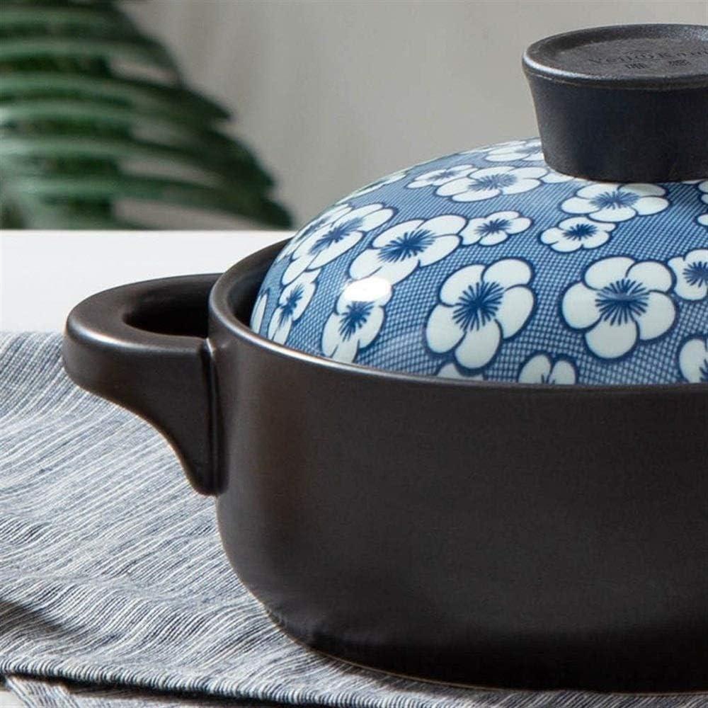 LIUSHI Pot en Terre Cuite Pot en Terre Cuite Pot en céramique Pot en céramique - Temps Durable et économie d'énergie au Lave-Vaisselle Capacité 1,5 l_A Capacity2.5l