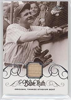 Babe Ruth (Baseball Card) 2016 Leaf Babe Ruth Collection - [Base] - Original Yankee Stadium Seat [Memorabilia] #YS-40