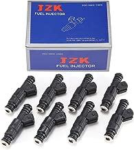 JZK 8pcs Fuel Injectors 8pcs/Set E80-8 GT-850 for Chevrolet Ford 835cc Set (8) High Impedance 80lb EV6 Fuel Injectors USCAR