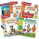 Highlights Summer Learning Pack 1st Grade-2nd Grade Workbooks, Cursive, STEAM