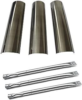 Hongso Master Forge SH3118B Gas Grill Repair Kit Replacement KIT Burners & Heat Plates (SBE601, SPE601)