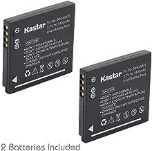 Kastar Battery (2-Pack) for Panasonic DMW-BCK7 & Lumix DMC-FH2 FH4 FH5 FH6 FH25 FH27 FP5 FH7 FS16 FS18 FS22 FS28 FS35 FS37 FS40 FS45 FT20 FT25 FX77 FX78 FX80 FX90 S2 S3 S5 SZ5 SZ7 TS20 SZ25