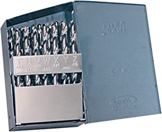 Steam Oxide Finish Cleveland C13843 High Speed Steel Heavy-Duty Extra Length Drill Bit 118 Degrees K-Notch Point Pack of 1 Morse Taper Shank Spiral Flute 11//16 Size