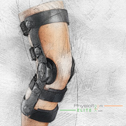 DonJoy Legend SE-4 Knee Support Brace: CI (Combined Instabilities), Right Leg, X-Small