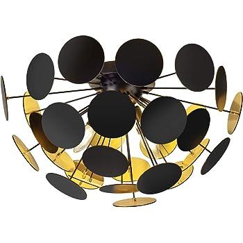 Trio Leuchten Pendelleuchte Wei/ßmatt//Silberfarbig E14 54 x 54 x 150 cm Metall