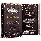 Fotospiel Party Geburtstag, Babyparty & Co   snaPmee Deluxe   50 Fotoaufgaben   Partyspiel für Gäste   Kombinierbar mit Fotobox