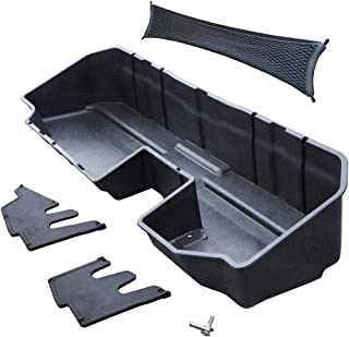Tyger Auto Underseat Storage Box for 2019-2020 Chevy Silverado/GMC Sierra 1500; 2020 Silverado/Sierra 2500 3500 HD | Doubl...