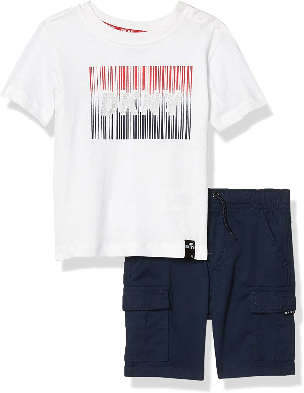 DKNY Baby Boys Shorts Set