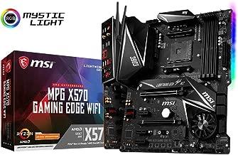 MSI MPG X570 Gaming Edge WiFi Motherboard (AMD AM4, DDR4, PCIe 4.0, SATA 6Gb/s, M.2, USB 3.2 Gen 2, AC Wi-Fi 5, HDMI, ATX)