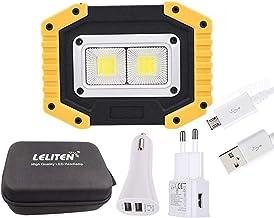 40W LED Draagbare Spotlight COB LED Werklamp USB Oplaadbare Outdoor Torch voor Camping Tent Lantern Flashlight Flashlights...
