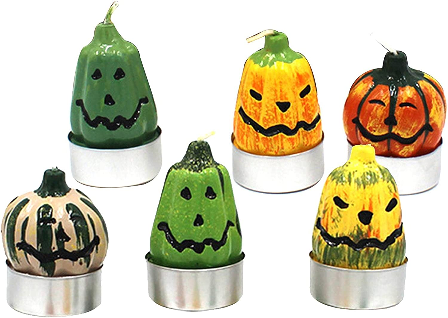 luning Halloween Pumpkin Flickering HallowMini Wholesale Sale Special Price Size Candles Cut
