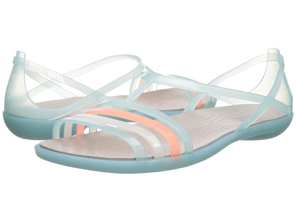 Crocs Isabella Sandal (Ice Blue/Platinum) Women's Sandals, Multi