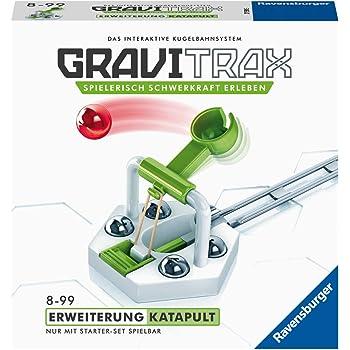 Ravensburger GraviTrax Erweiterung Katapult - Ideales Zubehör für spektakuläre Kugelbahnen, Konstruktionsspielzeug für Kinder ab 8 Jahren
