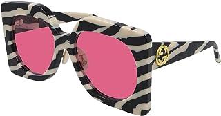 Gucci GG0784S Black White/Pink 62/19/145 women Sunglasses