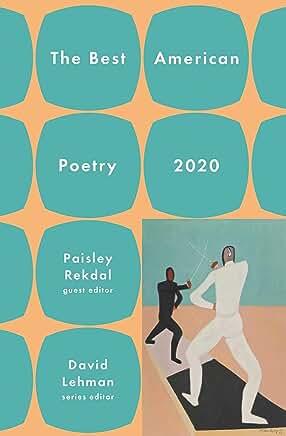 Best American Poetry 2020 edited by Paisley Rekdal