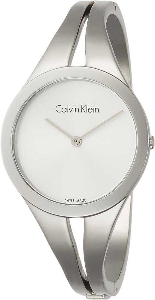 Calvin klein, orologio per donna , in acciaio inossidabile K7W2M116