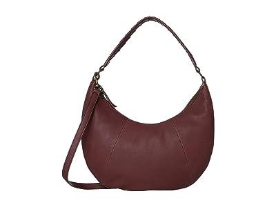 Lucky Brand Vala Shoulder (Sugar Red) Handbags