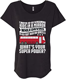 I Watch 40-60 Screaming Kids in A Mirror While Driving T Shirt, Become A School Bus Driver T Shirt