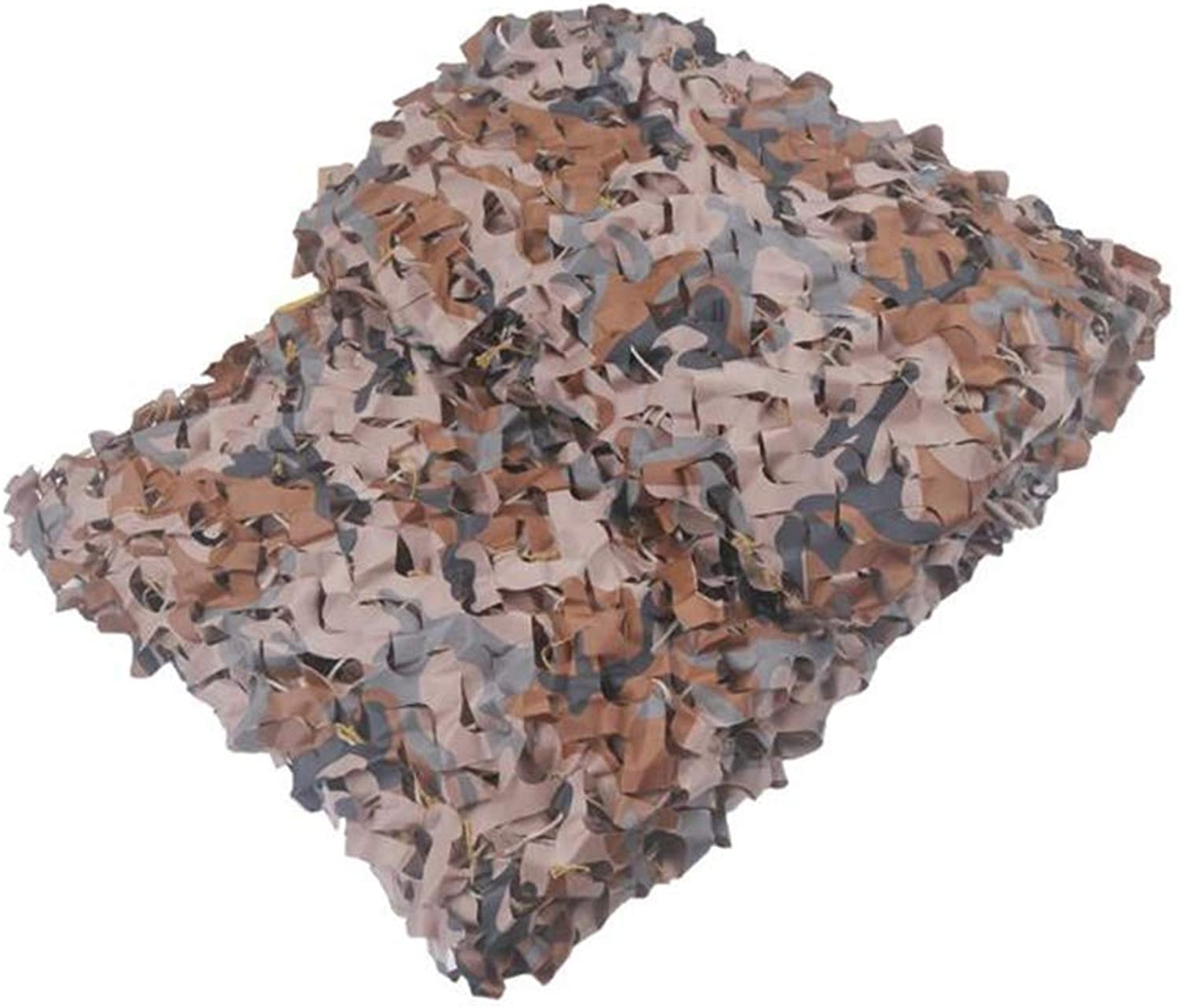 Desert Camouflage Net Air Defense Camouflage Camouflage Leather Camping Camping Photography Party Decoration Hidden Camp Shelter Tent Camouflage Cover (1.5  2m) (Size   3  6m)