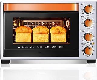 Horno de cocina eléctrico multifuncional, mini horno de escritorio, revestimiento de esmalte, seguro y fácil de limpiar, control de temperatura independiente, configuración integral para satisfacer s
