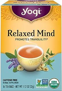 Yogi Tea, Relaxed Mind, 16 Count
