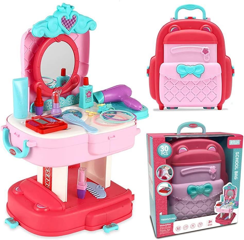 Kids Max 63% OFF Pretend Play Makeup Kit Toys Cosm Girls for Dress-up depot Little