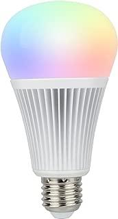 Mi Light 9W RGB+CCT LED Bulb WiFi Lamp Color Mi-Light Warm White Dimmable Remote and APP Control (9W E26/E27)