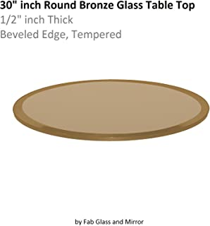 Best 30 x 30 glass table top Reviews