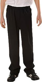 Vexcon Pantalones Boys con Goma elástica y Cordel, Colores Negro, Azul Marino, tamaño 146–176, 100% algodón