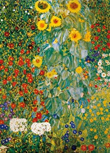 1art1 Gustav Klimt - Bauerngarten Mit Sonnenblumen, 1905-06, 2-Teilig Fototapete Poster-Tapete 250 x 180 cm