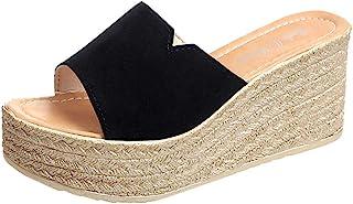 ウェッジソール ミュール Foreted ビーチサンダル 履き心地 厚底靴 日常着用 オープントゥ 下履き スリッパ 痛くない 夏 海