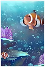 Clownfish Fish Kallen Canvas Poster Muur Art Decor Print Foto Schilderijen voor Woonkamer Slaapkamer Decoratie Unframe: 20...