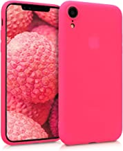kwmobile Apple iPhone XR Cover - Custodia per Apple iPhone XR in Silicone TPU - Backcover Protezione Rosa Shocking