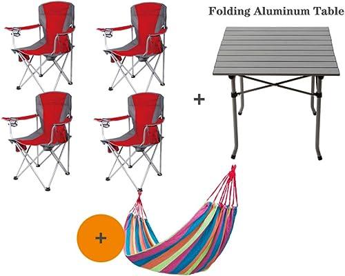 XIAOMEI Portable Chaise de Camping Chaises de Plage,avec Porte-gobelet Lightweight Salon Plein air Pêche Terrasse Durable Charge de 250 lbs Vert-G