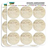 Constitution of The United States 2' Planner Calendar Scrapbooking Crafting Stickers - Opaque