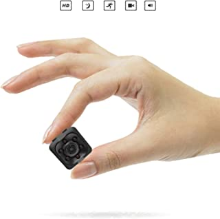 Camara espia Zimax es de las camaras espias ocultas mas vendidas 1080P HD Cámara de Vigilancia Portátil Secreta y Compacta con Detector de Movimiento IR y Visión Nocturna mini Cámara de Seguridad