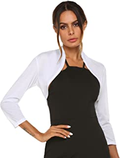 SE MIU Women Basic Spring Spring Cute Simple Cardigan Top Shrug