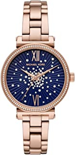 Michael Kors Women's MK3971 Analog Quartz Rose Gold Watch