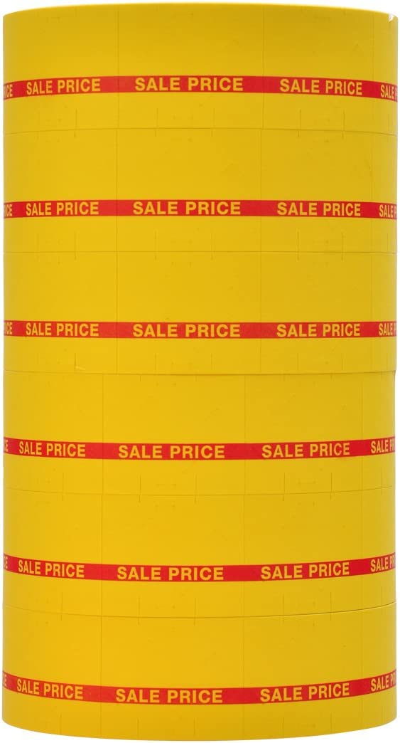 Red Reverse Print on Yellow