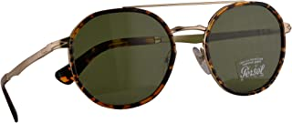 Persol 2456-S Sunglasses Gold w/Green Lens 53mm 107652 PO 2456S PO2456S PO2456-S