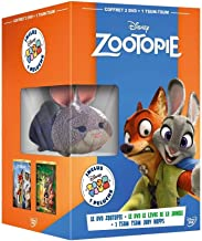 Zootopia & The Jungle Book plus Judy Tsum Tsum Figurine [ NON-USA FORMAT, PAL, Reg.2 Import - France ]