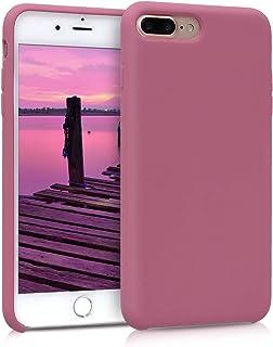 kwmobile Hülle kompatibel mit Apple iPhone 7 Plus / 8 Plus   Handyhülle gummiert   Handy Case in Deep Rusty Rose