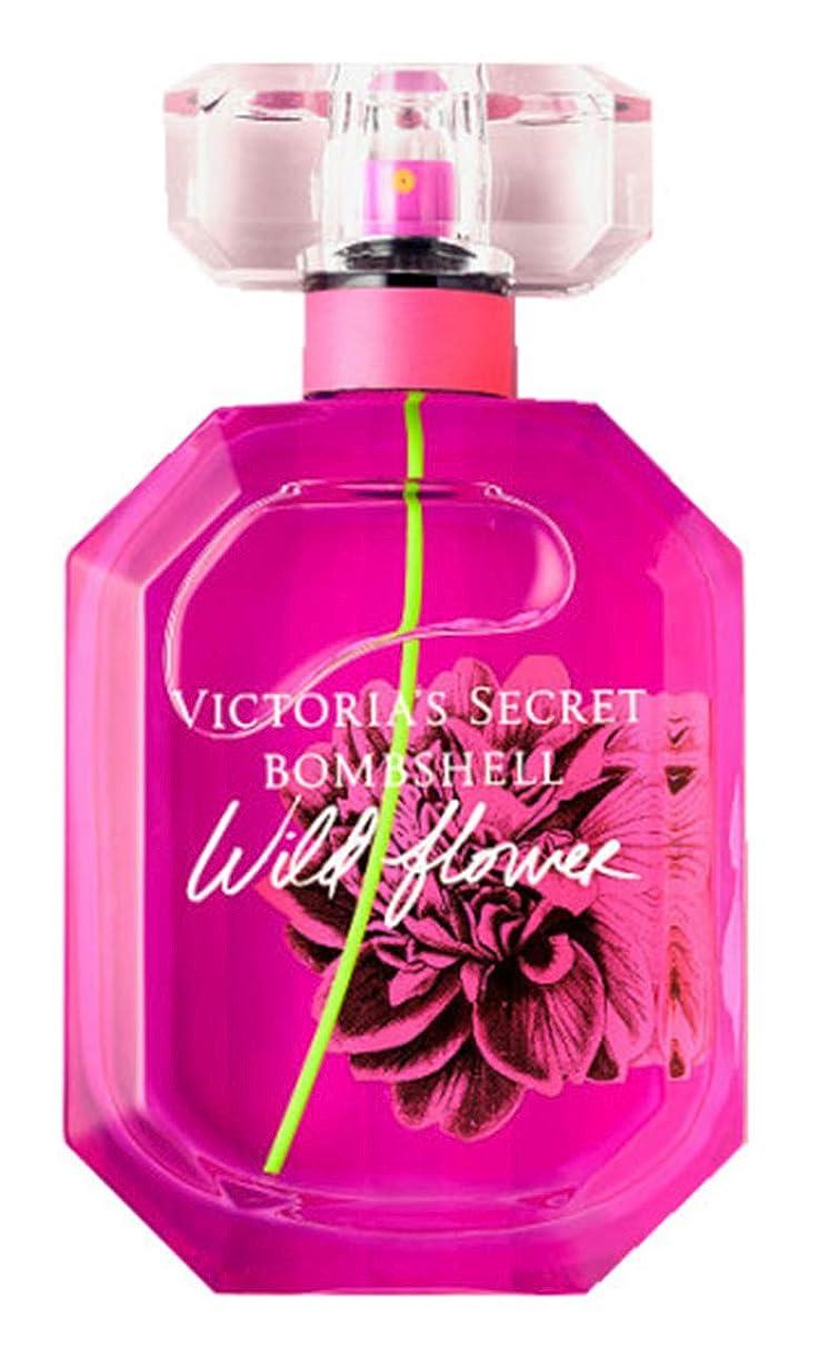 置換宿泊施設出発するビクトリアシークレット VICTORIA'S SECRET ボムシェル ワイルドフラワー オーデパフューム 香水 コスメ 1.7fl oz(50ml)