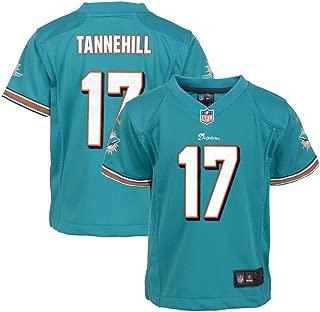 Nike Ryan Tannehill Miami Dolphins Home Aqua Jersey Boys(4-7) (S-L)