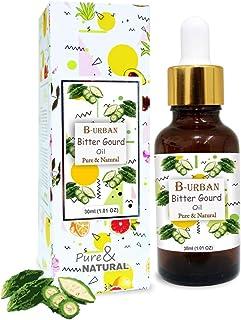 B-URBAN Bitter Gourd Oil 100% Natural Pure Undiluted Uncut Carrier Oil 30ml