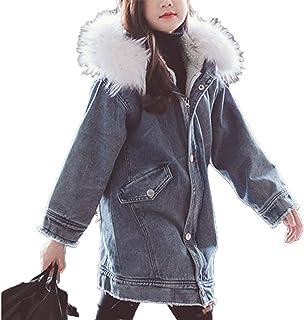 [CAIXINGYI]キッズ 女の子 暖か 中綿入り ウール コート フード ボンボン付き 秋 冬 おしゃれ 可愛い お出かけ ガールズ 防寒