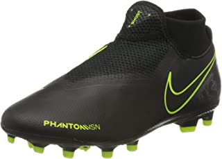 Phantom VSN Academy DF MG Black/Black/Volt Men's 10.5, Women's 12 Medium