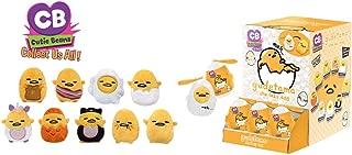 Fiesta Toys Mystery Mini Cutie Beans Sanrio Gudetama The Lazy Egg Animal Plush Clip On Toys Series 1 - 2 Piece Set