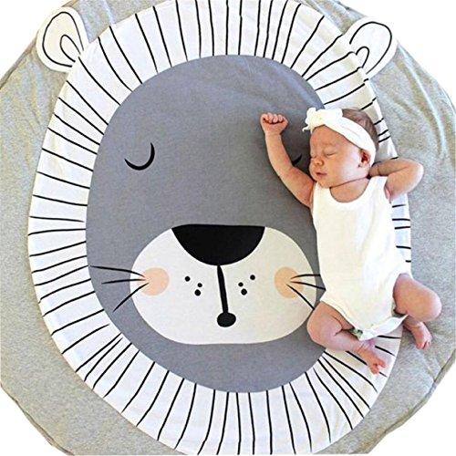 Longra ♥Dibujos Animados Infantiles Infantiles Creeping Mat decoración de la habitación Manta (C)