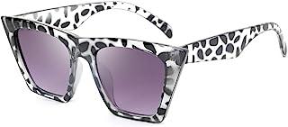 نظارات شمسية عصرية من FEISEDY بتصميم مربع عين القطة B2473